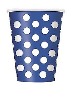 Blue Dots Cups