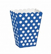 Blue Dots Treat Boxes