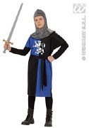 Blue Medieval Warrior Costume