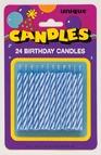 Blue Birthday Candles