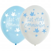 Blue Church Communion Balloons