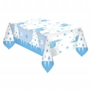 Blue Church Tablecover