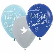 Blue Dove Communion Balloons