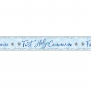 Blue Dove Communion Banner