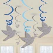 Blue Dove Communion Swirls