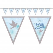 Blue Dove Pennant Banner