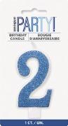 Blue Glitter No2 Candle