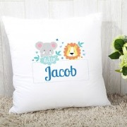 Blue Jungle Cushion