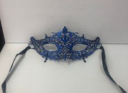 Blue Lace Masquerade Mask