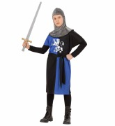 Blue Medieval Warrior Costume