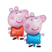 Blue Peppa Pig Balloon