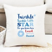 Blue Twinkle Cushion