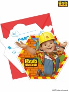 Bob The Builder Invites