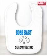 Boy Boss Baby Bib