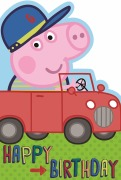 Peppa Pig Boy Birthday Card