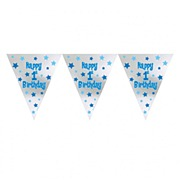 Boys 1st Birthday Bunting