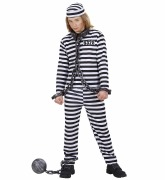 Boys Convict Costume
