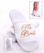 Bride To Be Spa Slippers