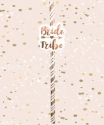 Bride Tribe Party Straws