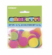 Bright Round Tissue Confetti