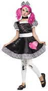 Broken Doll Childs Costume