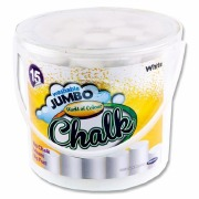 Bucket Of Jumbo White Chalk
