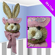 Bunny Face Small Door Hanger