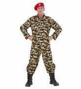 Camauflage Solider Costume