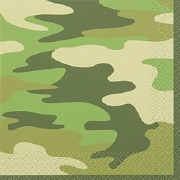Camo Party Napkins