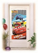 Cars Party Door Sign