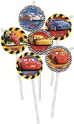 Cars Party Straws