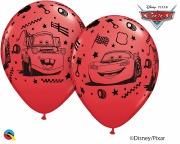 Cars Latex Balloons