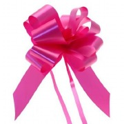 Cerise Pull Bow Ribbon