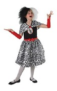 Childs Cruella De Vil Costume