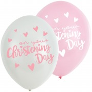 Christening Day Balloons