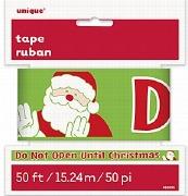 Christmas Caution Tape