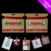 Christmas Peg Holder