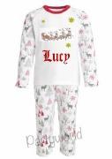 Personalised Reindeer Pyjamas