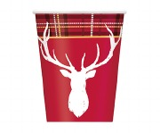 Christmas Deer Cups