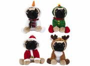 Christmas Pug Teddy