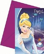 Cinderella Party Invitations