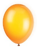 Citrus Orange Balloons