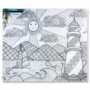 Colour My Canvas Light House