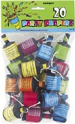 Colourful Party Poppers