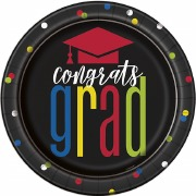 Colourful Cap Grad Plates