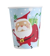 Colourful Santa Cup