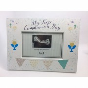 Communion Boy Deluxe Frame