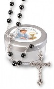 Communion Boy Rosary Beads