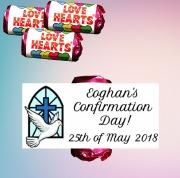 Confirmation Boy Lovehearts