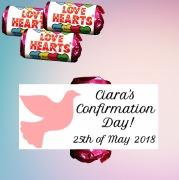 Confirmation Girl Lovehearts